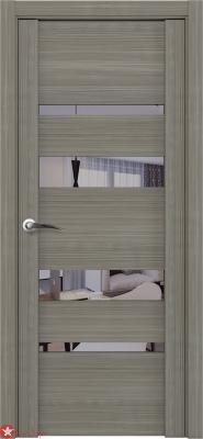 Дверь Uniline 30013 (стекло черное)